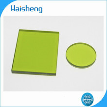 LB10 green optical glass filters